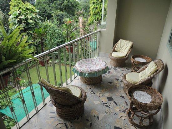 Prabhakar Homestay: Balcony