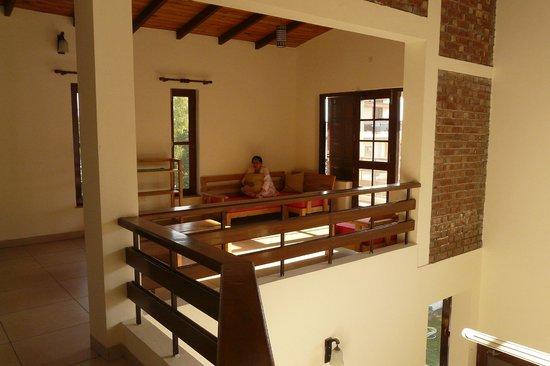 Dehradun Homestay: first floor living area