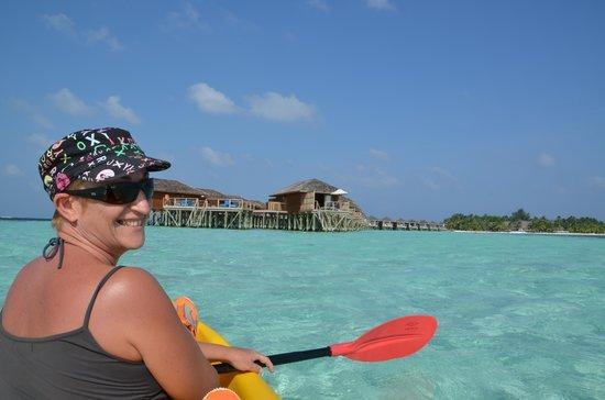 Vilamendhoo Island Resort & Spa: le lagon