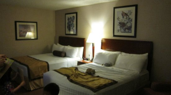 Best Western Executive Inn: Two Queen Beds