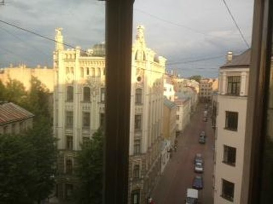 Funky Hostel and Apartments: View from room' window