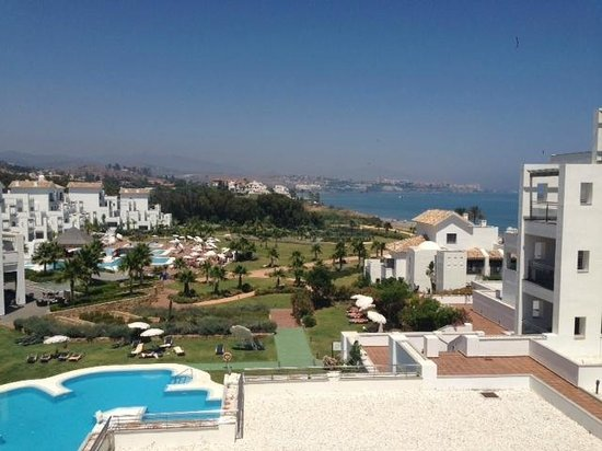 Hotel Fuerte Estepona : the view from our suite