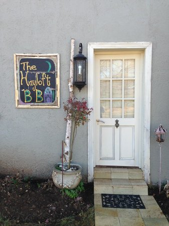 Hayloft B&B: The front of the house!