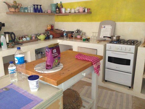 Hayloft B&B: The kitchen