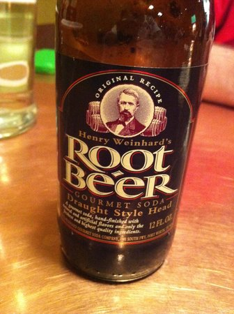 Diablo Burger : Root Bear