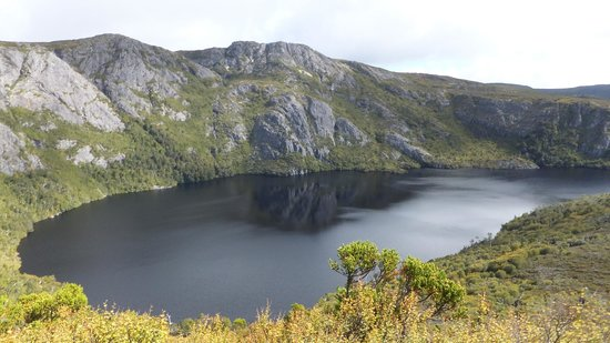 Cradle Mountain Huts: Nearly at Marion's Lookout