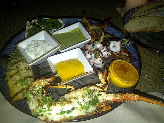Mandarin Oriental, Sanya: ouumm lobster