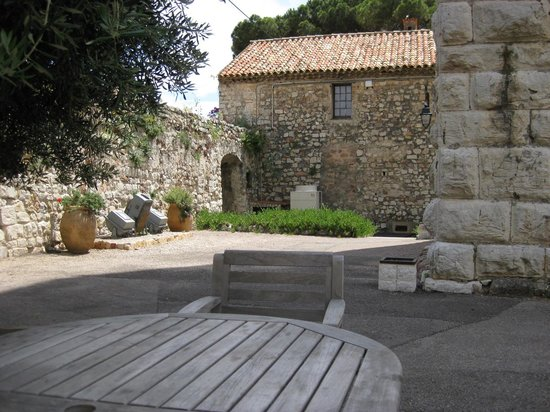 Musee de la Castre: castle grounds