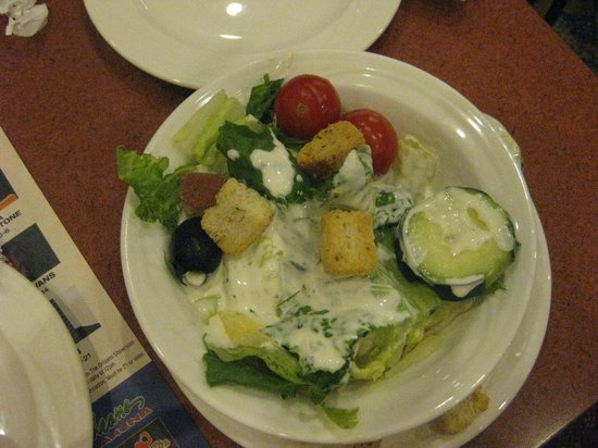 The Courtyard Cafe: Dinner Salad