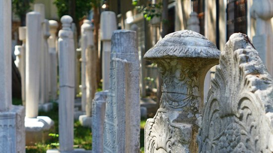 Headstones - Picture of Galata Mevlevi Museum, Istanbul ...