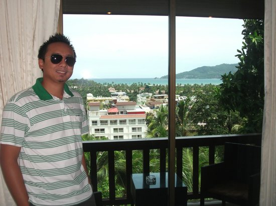 Ocean View Phuket Hotel: view from room