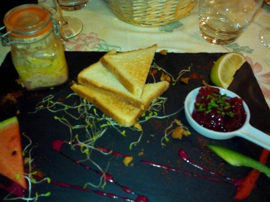 Le P'tit Montmartre : le foie gras maison