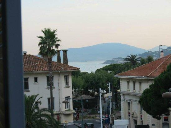 Matisse Hotel : La vue de notre chambre (sans l'option vue mer)