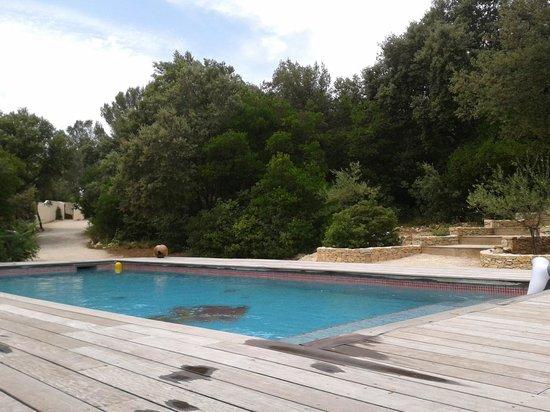 Les Cabanes Oxyzen: La piscine