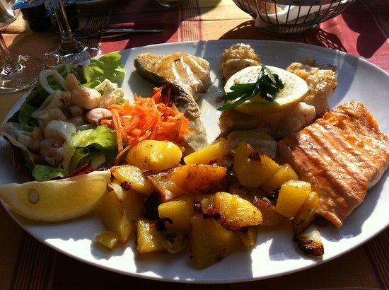 Restaurante Porto: Fischteller