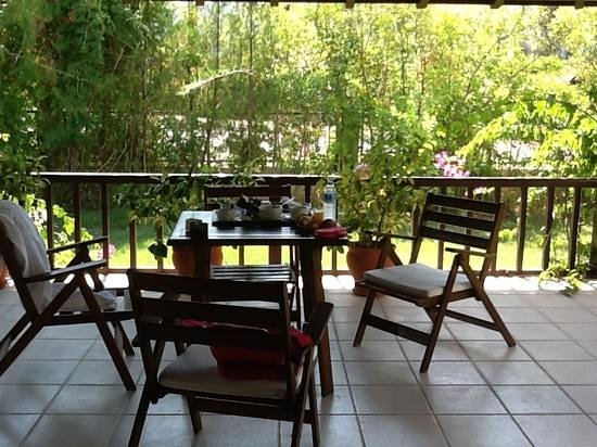 Efe Hotel Gocek: private terrace makes the room really special