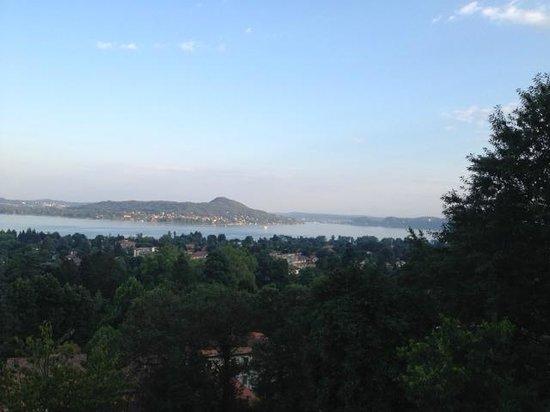 Al Camino : vista lago dalla terrazza