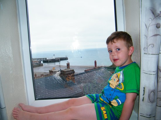 Blands Cliff Lodge B&B: Room with a view