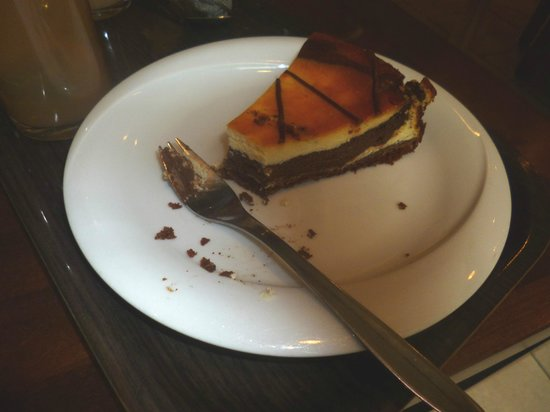 Bulevardin kahvisalonki: chocolate cheesecake