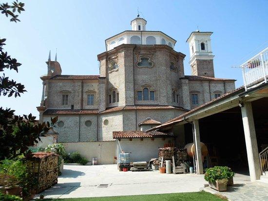 Al Lunario Bed & Breakfast : Madonna del Popolo - view from backyard, Al Lunario, Sep 9-11 2012