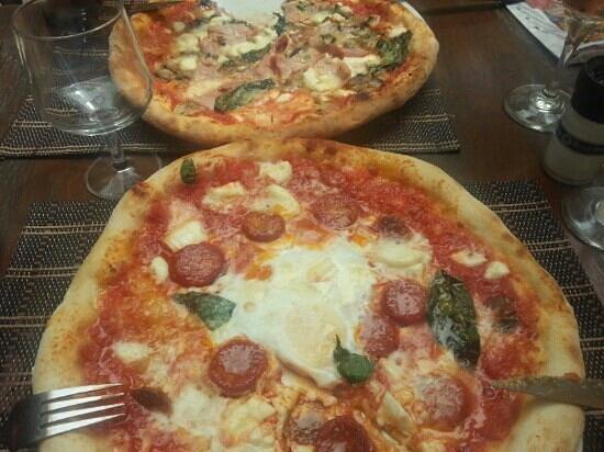 Cote Sud : Excellentes pizzas