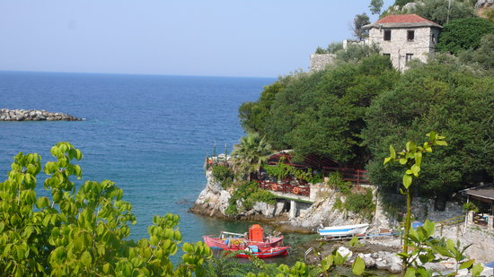 Victoria's Guest house: view from terace