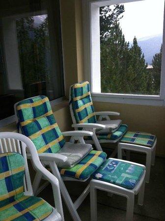 Hotel Streiff: Balkon
