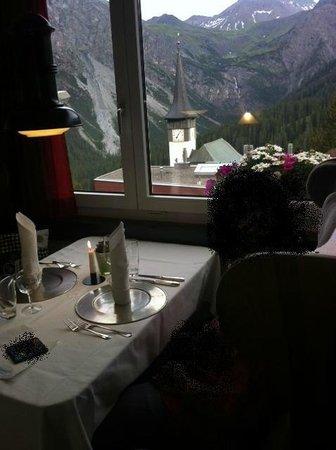 Hotel Streiff: Restaurant Wagon