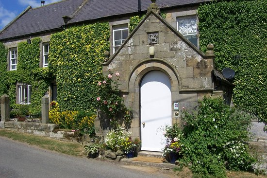 Tosson Tower Farm: This is the entrance to the farmhouse