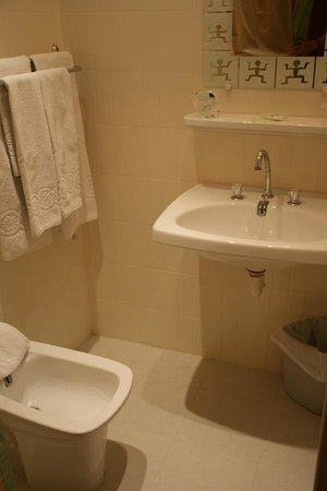 Hotel L' Aptois : The room with shared bathroom