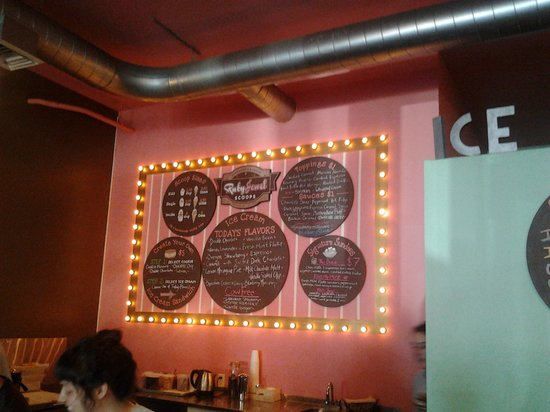 Ruby Jewel Scoops - North Portland: Ruby's menu
