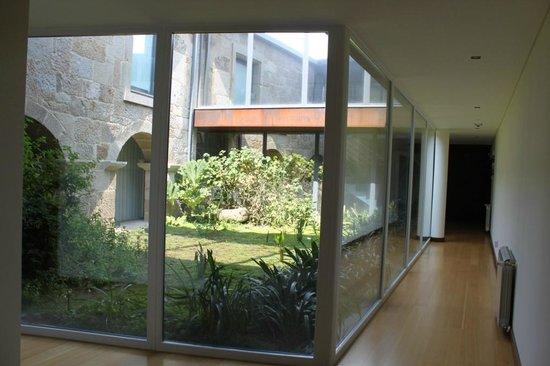 """Paco Da Torre De Figueiredo Das Donas : jardim """"interior"""""""