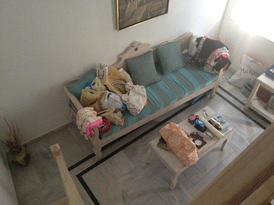 Hotel Kallisto: Sofa
