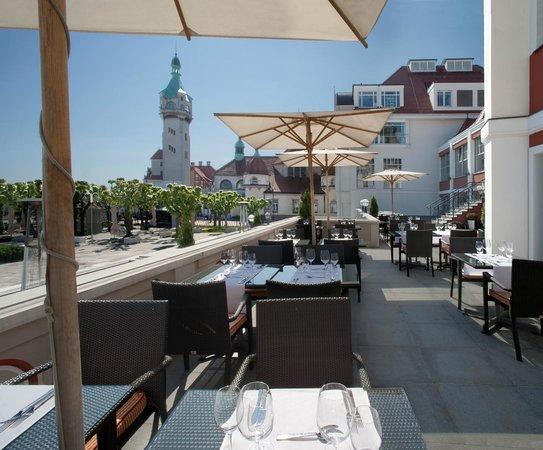 Rotunda Cafe - Sheraton Sopot Hotel