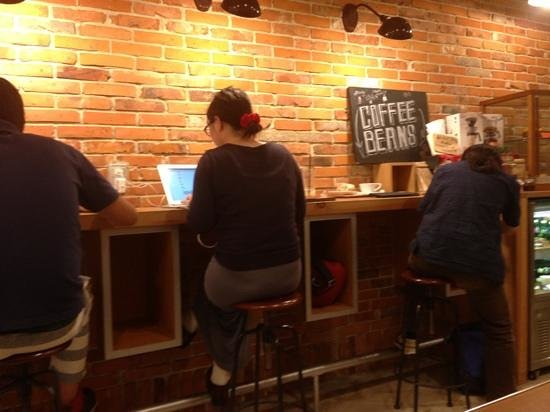 Ogawa Coffee : free wifi.