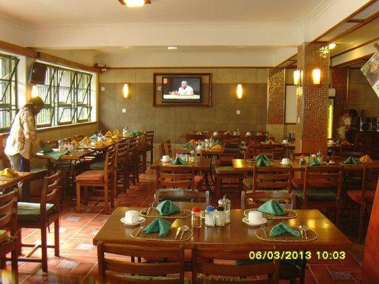 Kenya Comfort Hotel: Hotel eating area