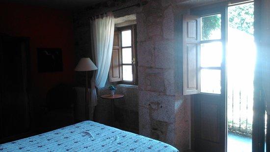 Casa de Graña da Acea: Habitación Balcón