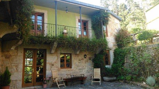 Casa de Graña da Acea: Fachada (habitación Balcón)