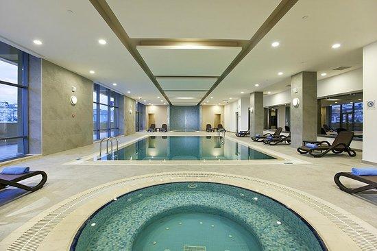 In-door Pool - Picture of Hilton Garden Inn Sanliurfa, Sanliurfa ...
