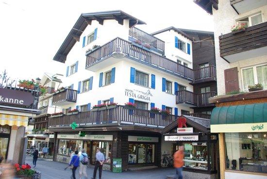 Hotel Testa Grigia : A real Gem in Zermatt