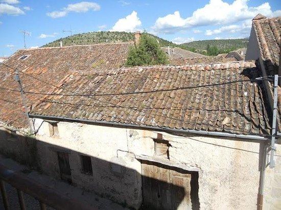 Hostal Penas: Vista desde el balcón de la habitación