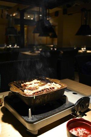 Seito Restaurant Sushi & Grill : Barbacoa coreana