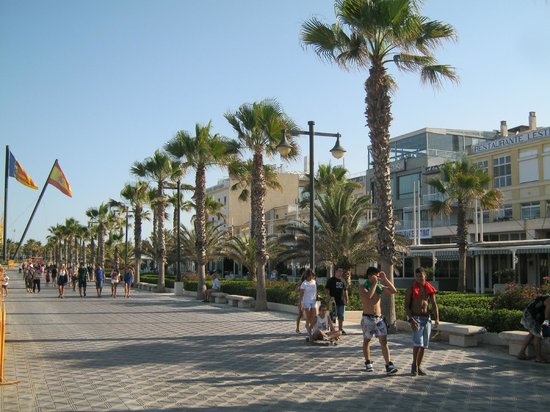 Hotel Miramar: promenade