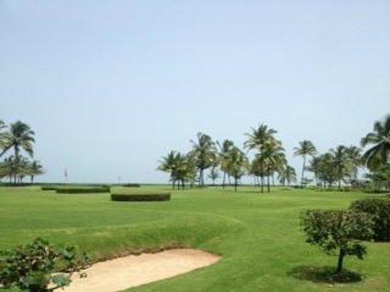 Taj Exotica Goa : 9 hole pitch and putt golf course