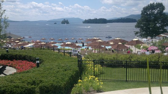 The Sagamore Resort: Pool area