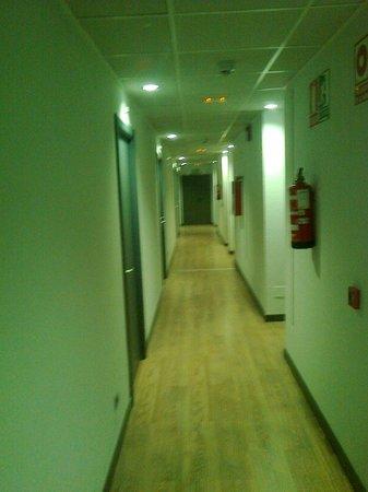 Hotel Cisneros: Pasillo habitaciones