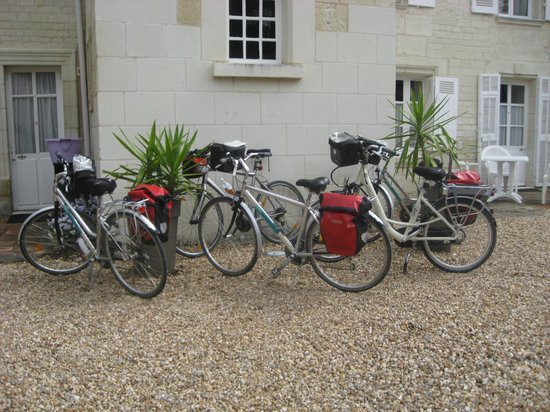 Logis Manoir de la Giraudiere: A welcome stop for passing cyclists