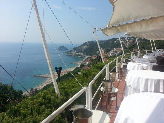 Hotel Claudio: il terrazzo del ristorante