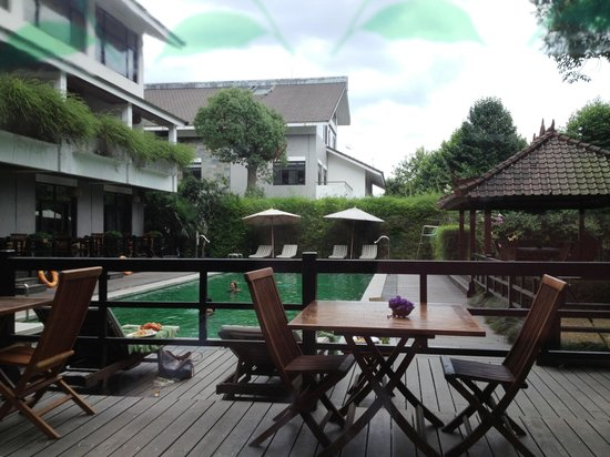 Landison Longjing Resort: Pool party