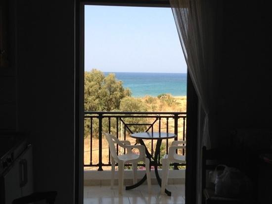 Sea View Hotel and Apartments: vista dalla camera